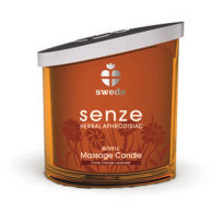 Свечка Senze Blissful Massage candle clove orande lavender 150 мл.