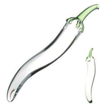 Фаллоимитатор Glass naturals chili pepper dildo